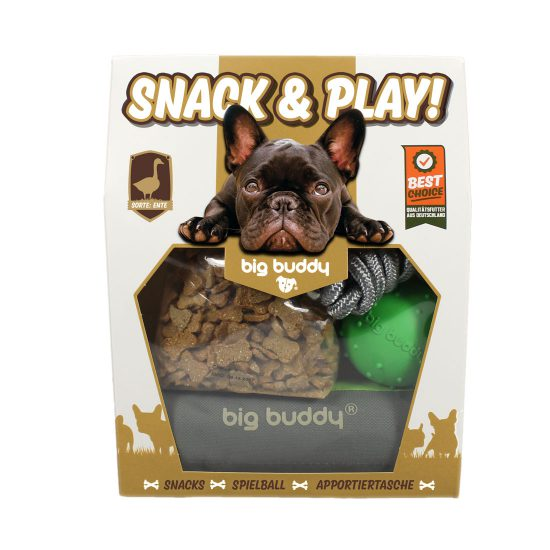 Big Buddy Snack & Play Set