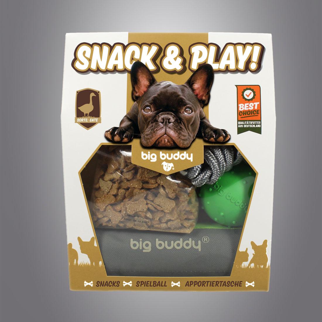 Big Buddy Snack & Play Set Ente