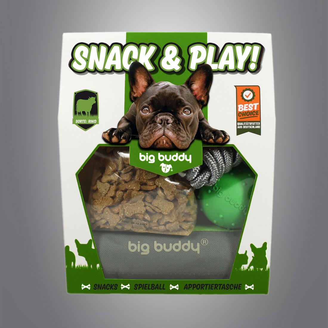Big Buddy Snack & Play Set / Rind