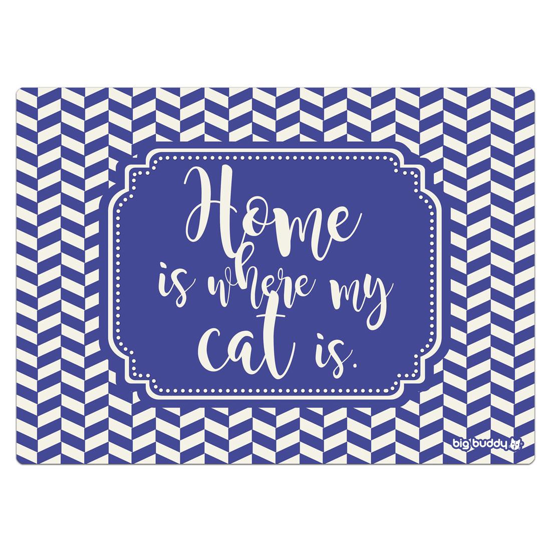 """Big Buddy Futtermatte """"Cat Home"""""""