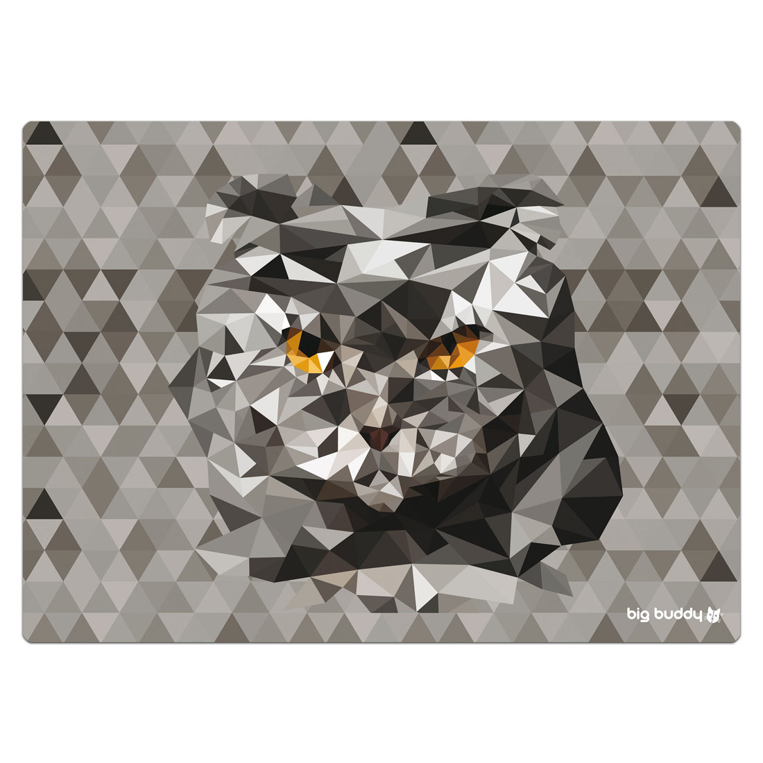 "Big Buddy Futtermatte ""Polygon Cat"