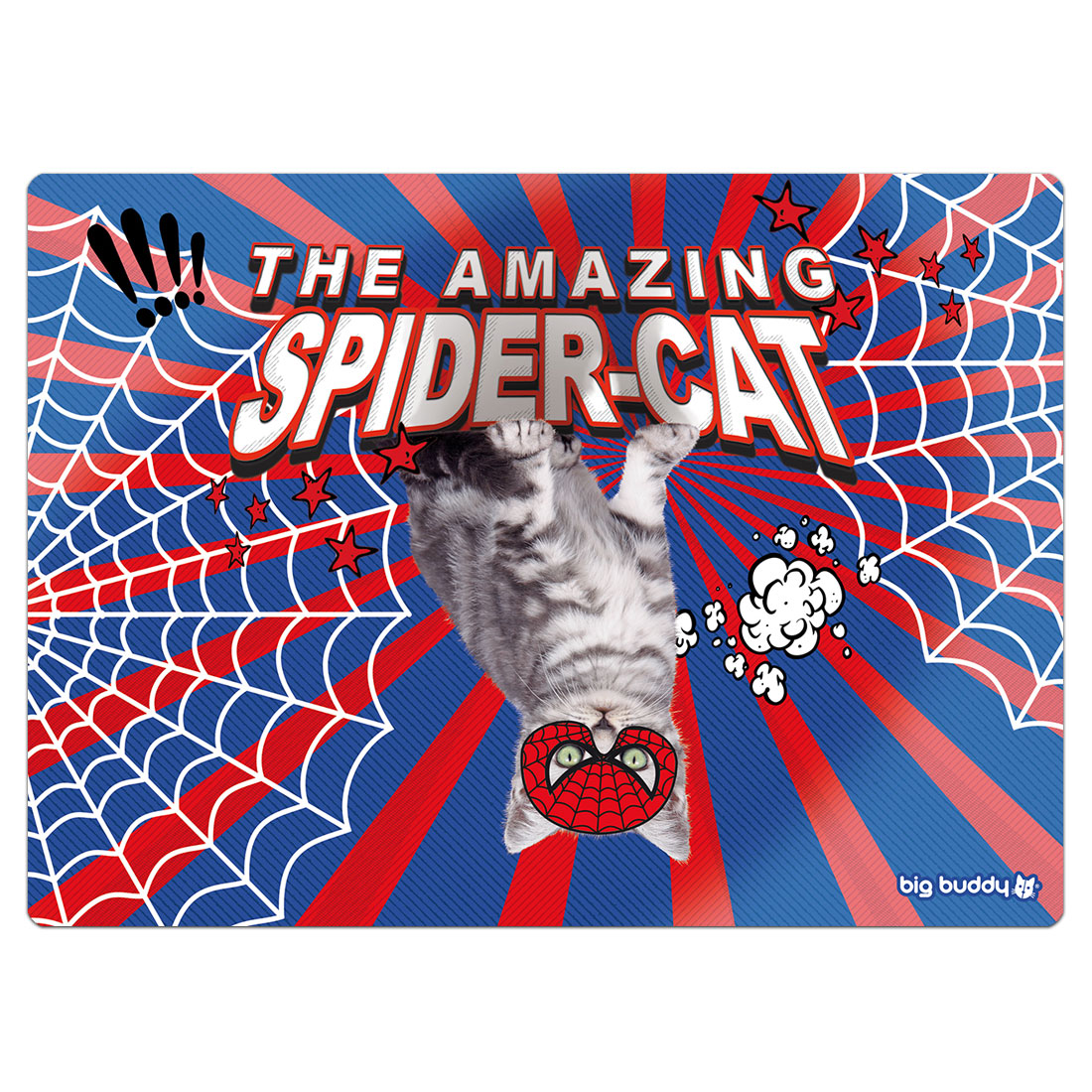 "Big Buddy Futtermatte ""Spider-Cat"""