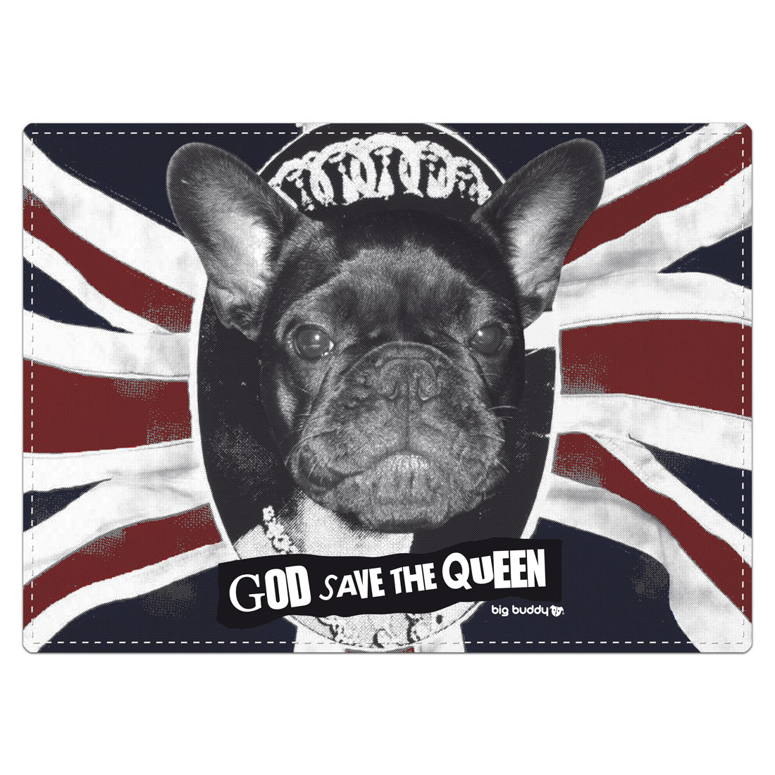 "Big Buddy Futtermatte ""God Save The Queen"""