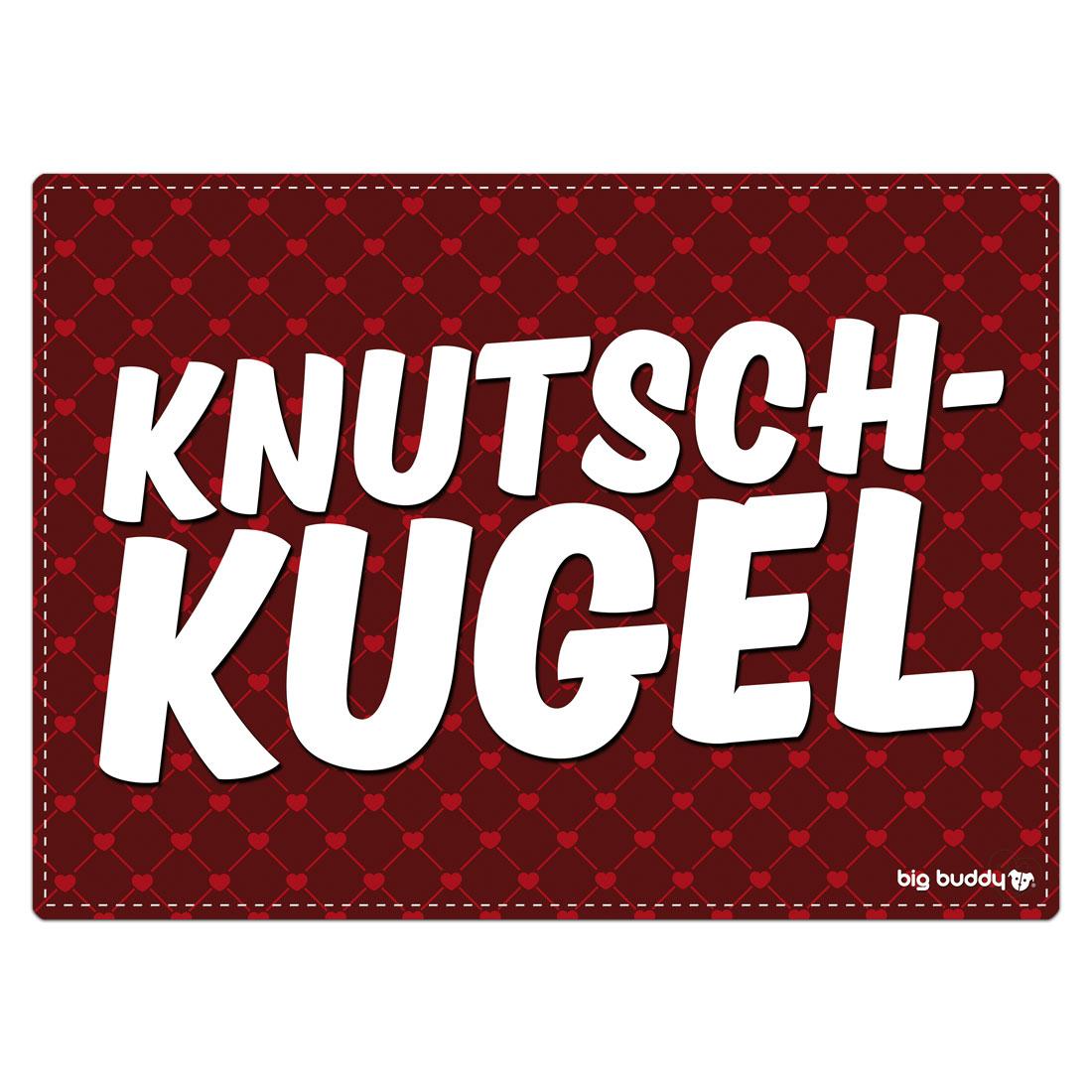 "Big Buddy Futtermatte ""Knutschkugel"""